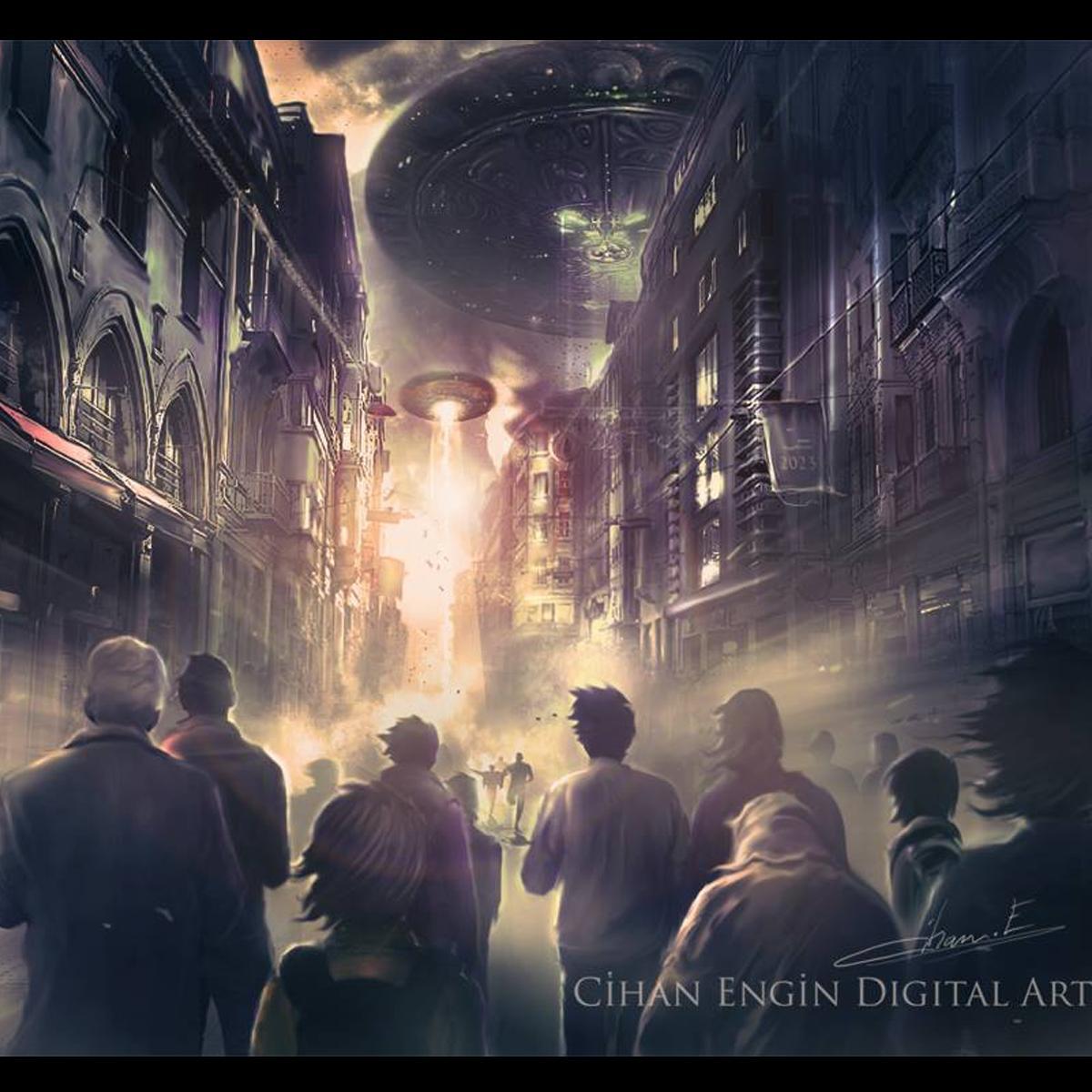 İstiklal Caddesi Uzaylıların Gelişi